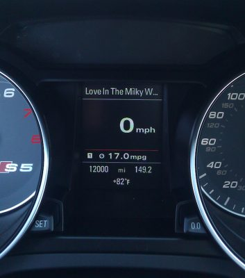 2011 S5: 356 days and 12,000 miles later