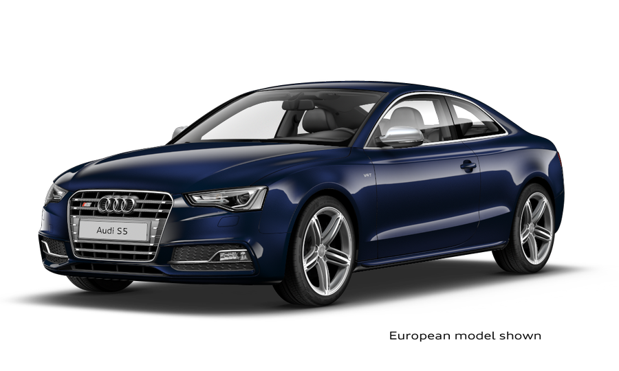 2013 A5 and S5 coupé online configurator is live