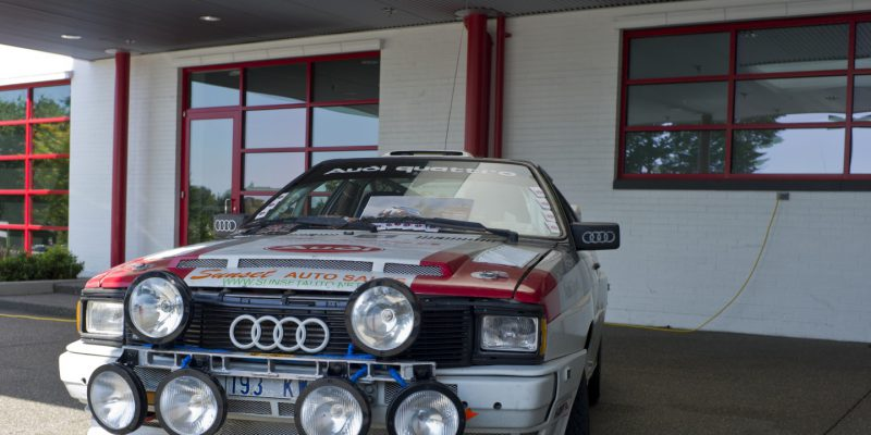 Desktop Wallpaper: Audi Sport Quattro at Audi Expo
