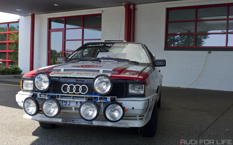 Desktop Wallpaper: Audi Sport Quattro at Audi Expo