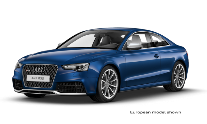 2013 RS5 Online Configurator is Live on AudiUSA.com