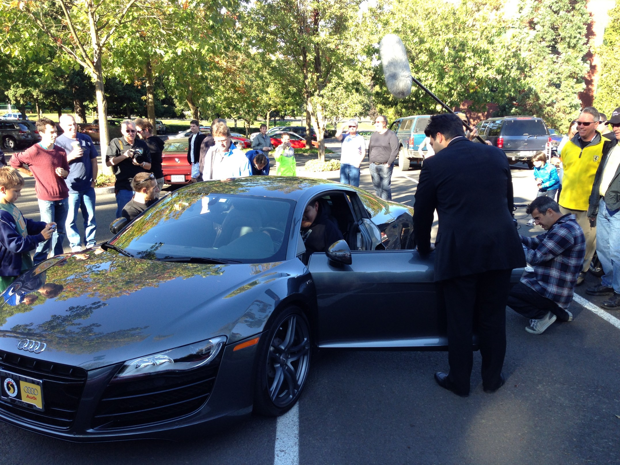 #WantAnR8: One year ago this weekend…