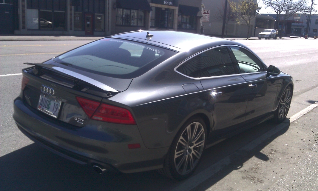 Day Trip to Seattle in an Audi A7