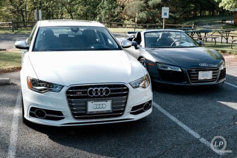 Audi S6 and R8 V10 Spyder