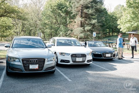 Audi A8 L 3.0TDI, S6 and R8 V10 Spyder