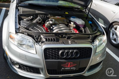 Avus Silver B7 Audi RS 4