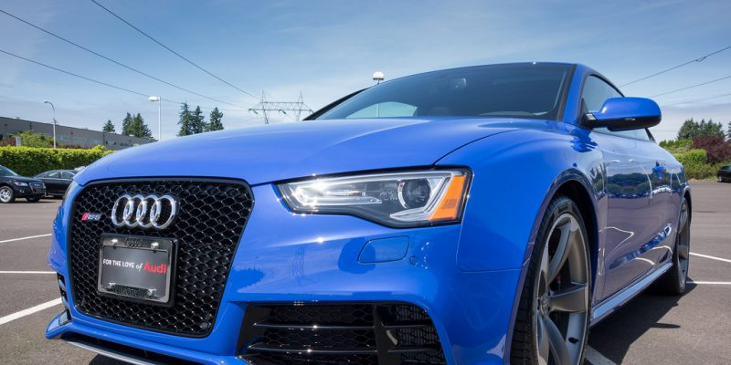 In Photos: Audi Exclusive Nogaro Blue RS 5 at Audi Wilsonville