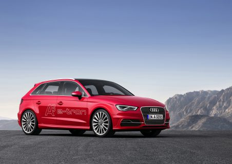 Audi A3 Sportback e-tron (Photo by Audi AG)
