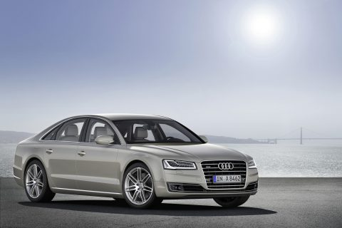 2015 Audi A8 4.2TDI (Photo by Audi AG)