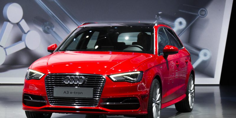 Audi Production Vehicles at Frankfurt/IAA 2013
