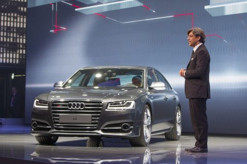 2015 Audi S8 at IAA 2013 (Photo by Audi AG)
