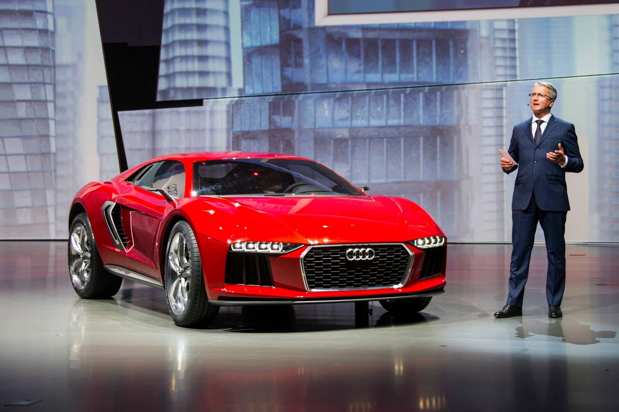 Audi Concept Vehicles at Frankfurt/IAA 2013