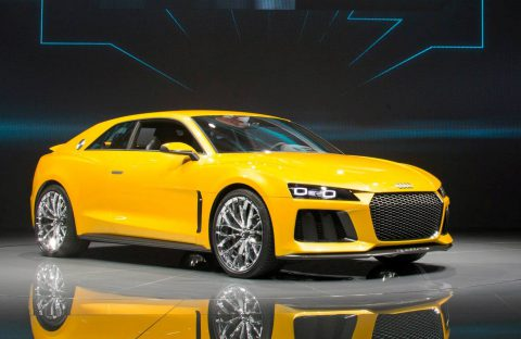 Audi Sport quattro concept at IAA 2013 (Photo by Audi AG)