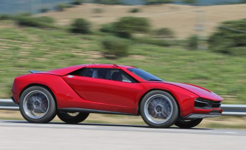 Italdesign Giugiaro Parcour Concept (Photo via Car & Driver)