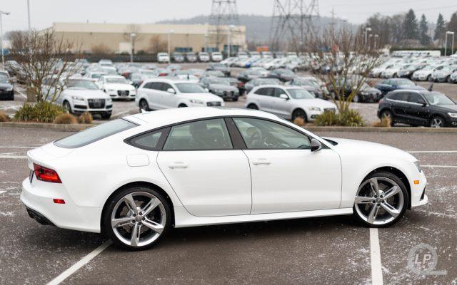 In Photos: Ibis White Audi RS 7