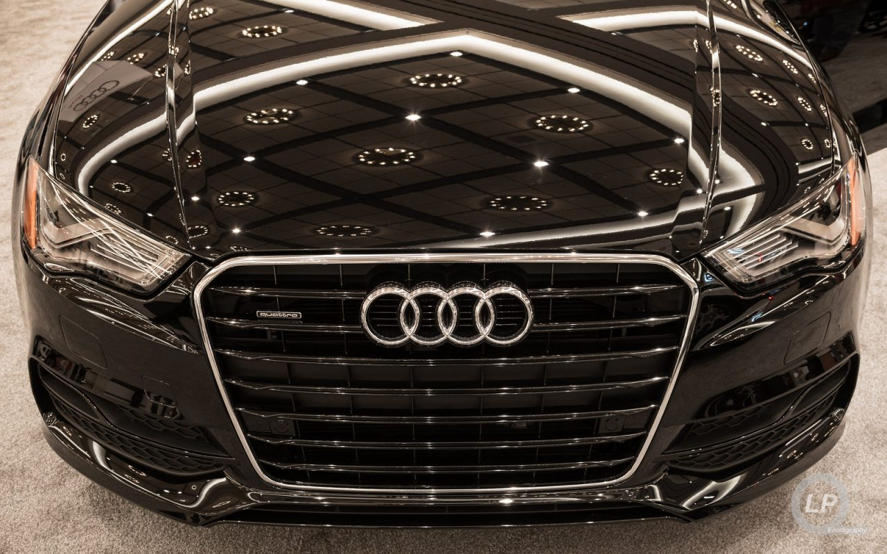 Audi A3 Sedan at the Portland International Auto Show