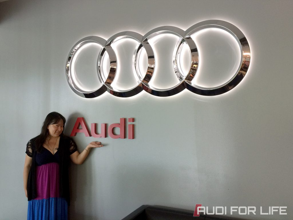 Queen of #WantAnR8 at Audi Forum Herndon