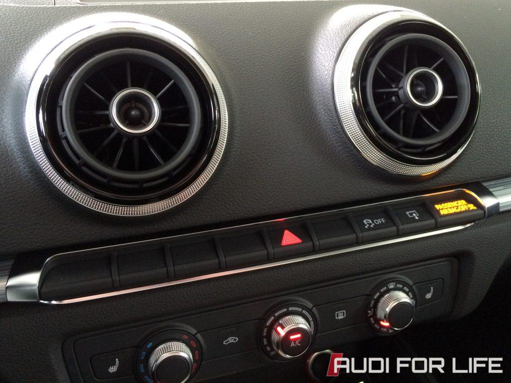 Audi A3 Round AC Vents