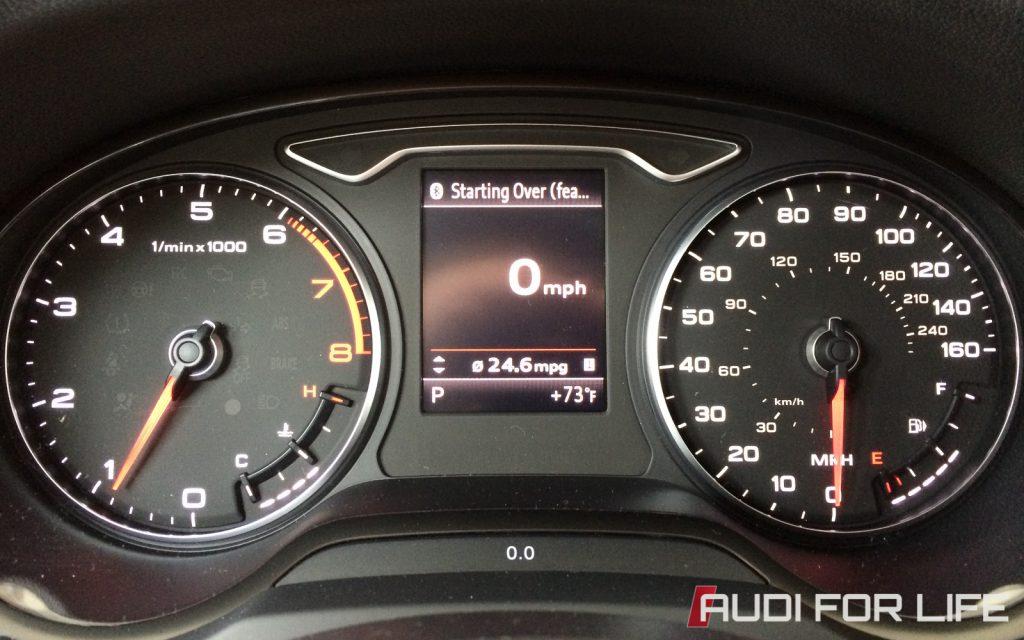 Audi A3 Instrument Panel