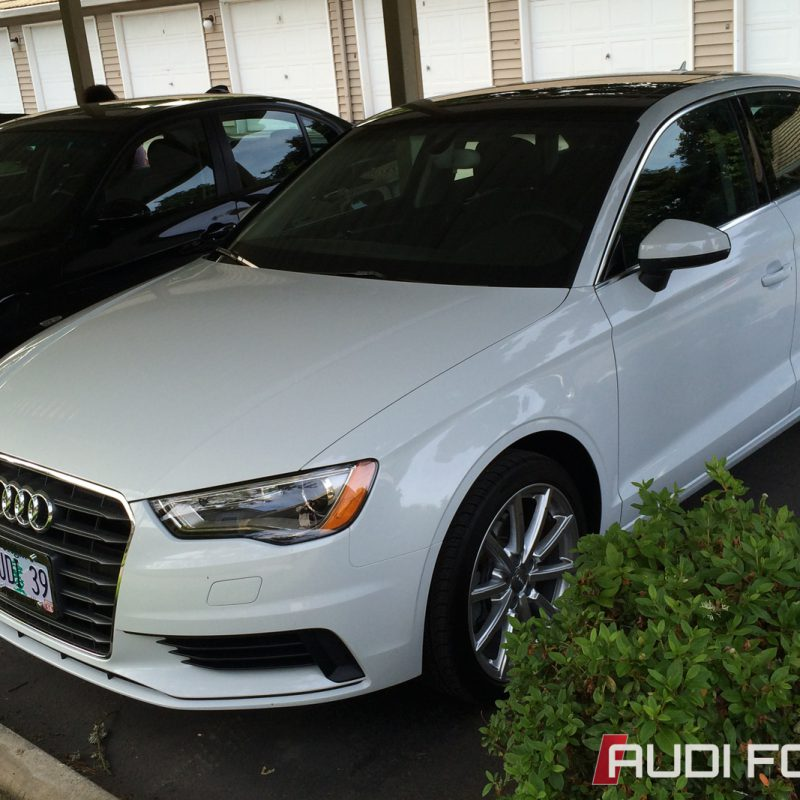 Short Term Test Drive and Comparison: Audi A3 1.8T and 2.0T quattro