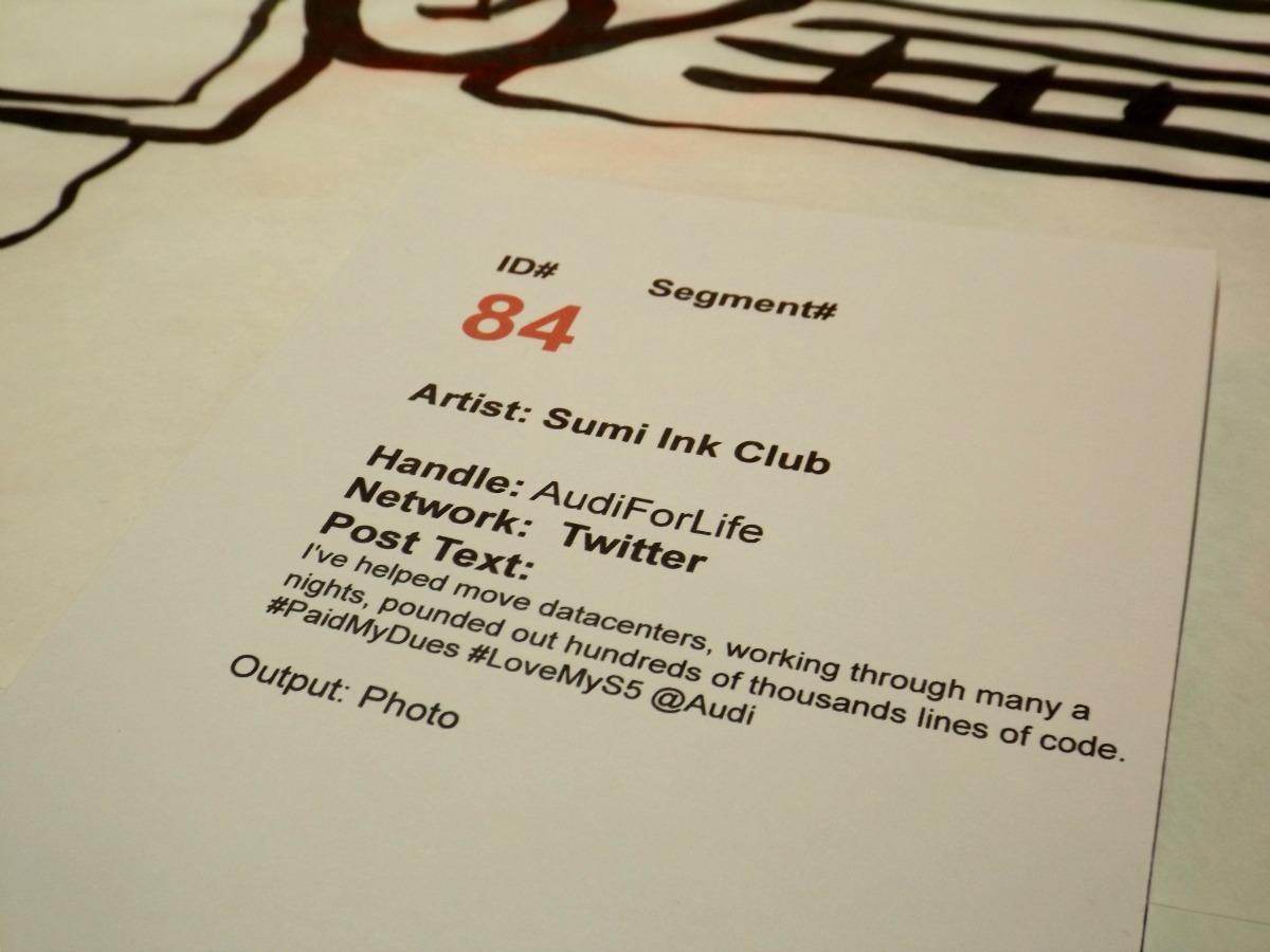 Audi #PaidMyDues Tweet at Live Event - Unofficial Audi Blog