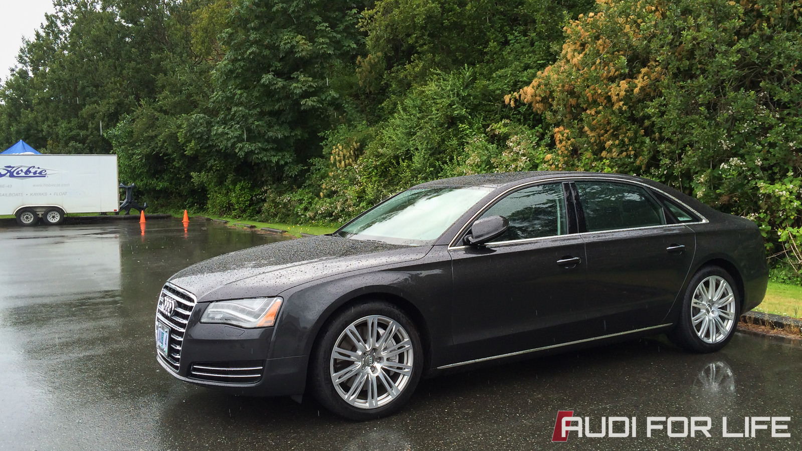 PT Cruisin' with an Audi A8 L 4.0T