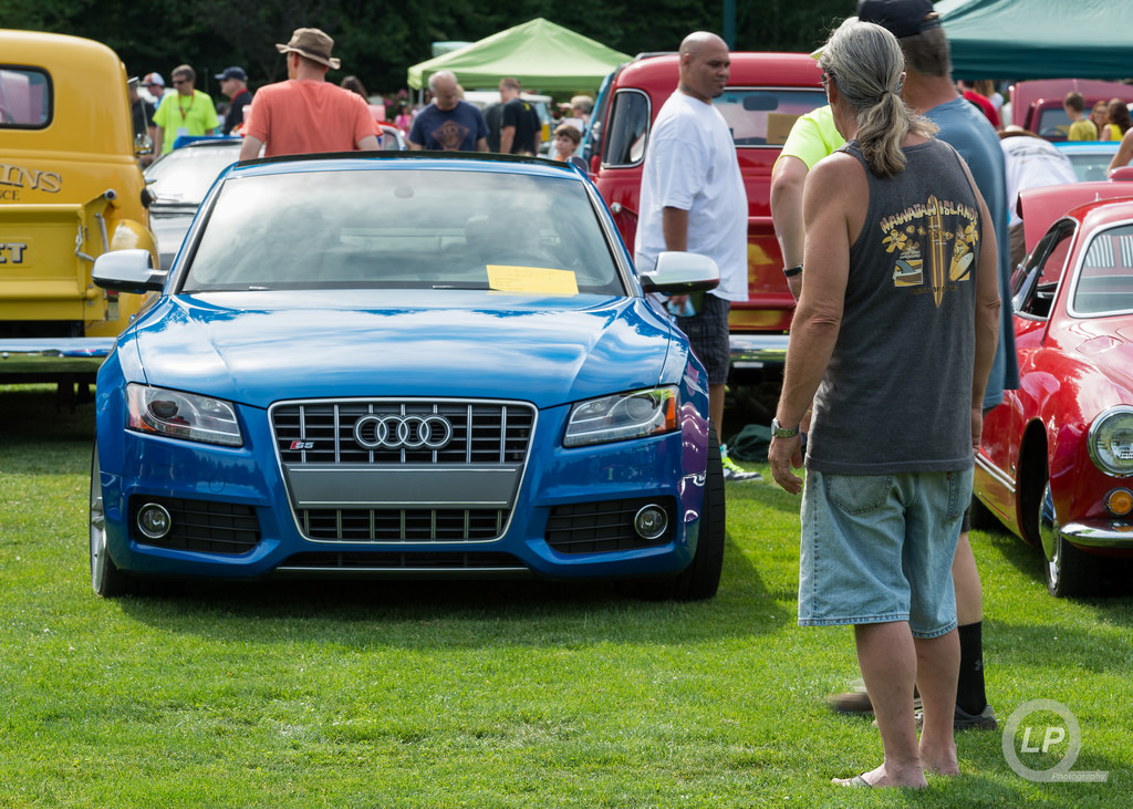 My S5 at Option5's Car Show IX