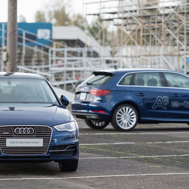 In Photos: Audi A3 Sportback e-tron at Quattrofest 2014