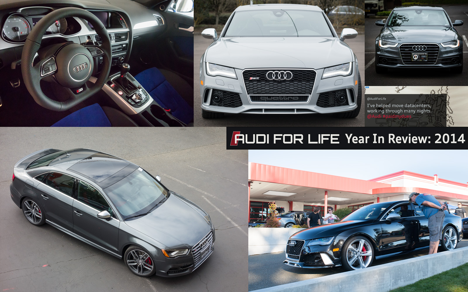 Audi For Life Year In Review 2014