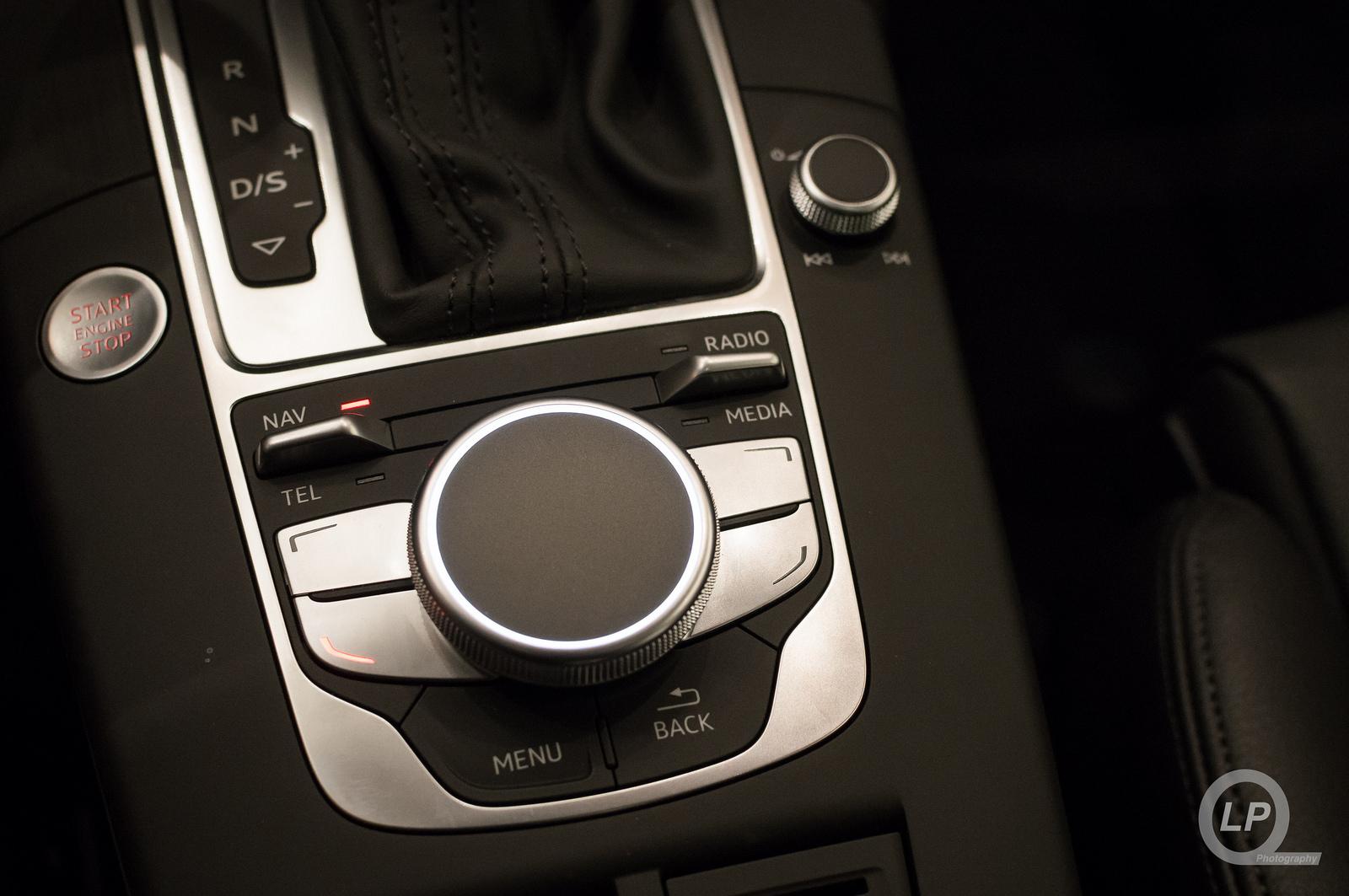 Audi A3 MMI Controls