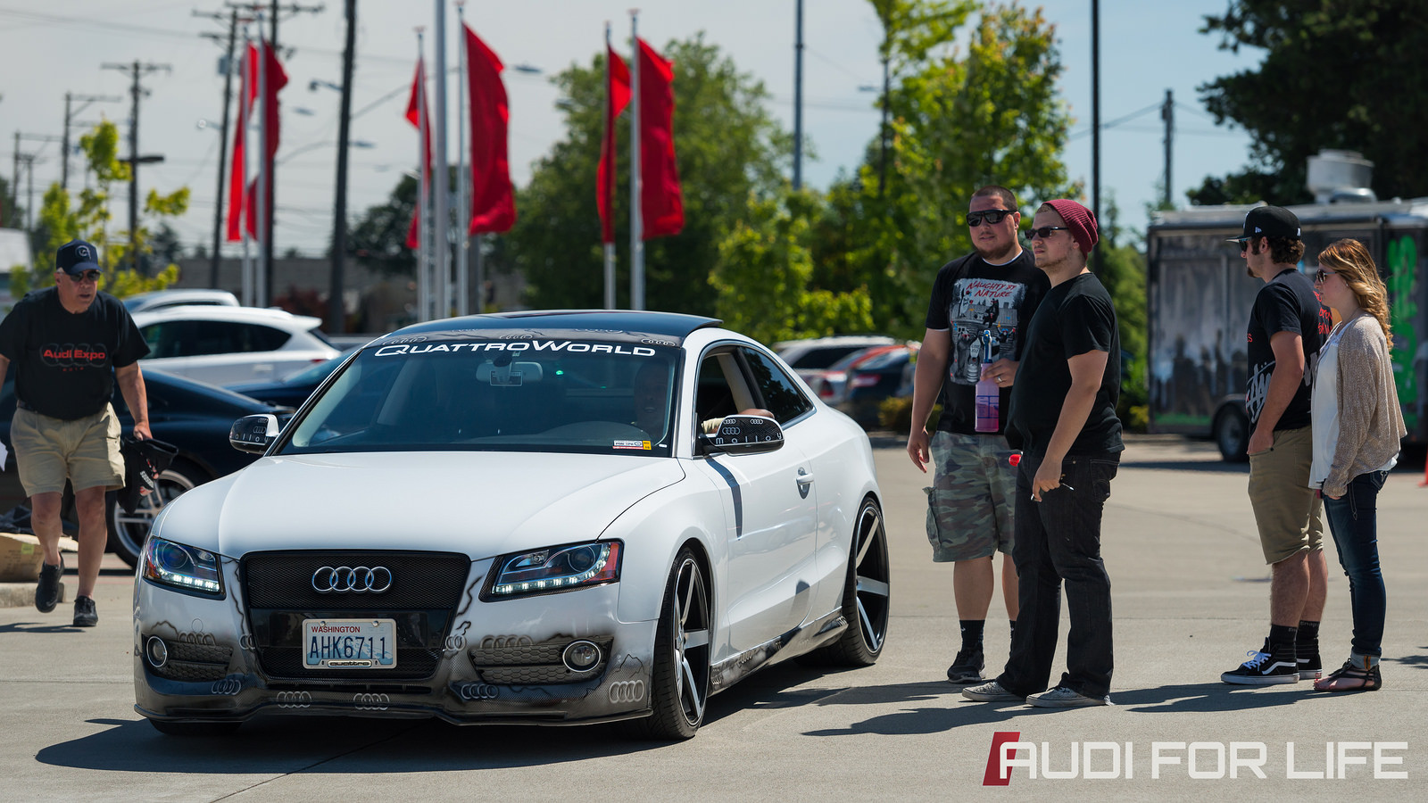 Photo from Audi Expo 2014