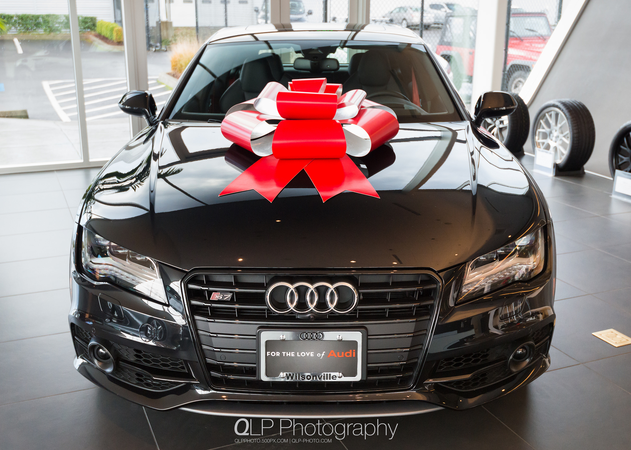 Phantom Black Audi S7 with Sport Edition Package