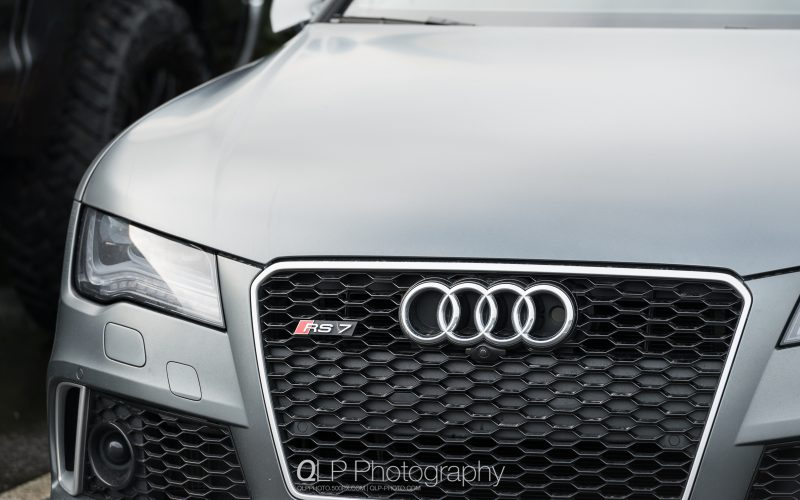 In Photos: Matte Daytona Gray Audi RS 7