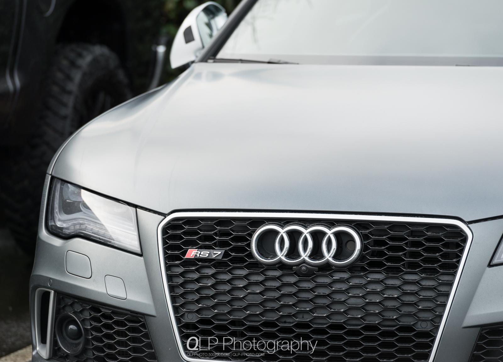 Matte Daytona Gray Audi RS 7