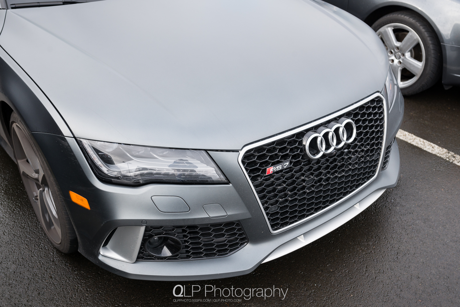 Matte Daytona Gray Audi RS 7