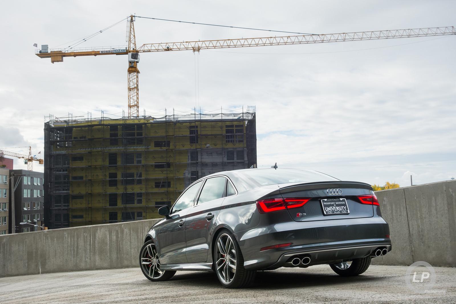 Launch Edition Daytona Gray Audi S3 at University Audi