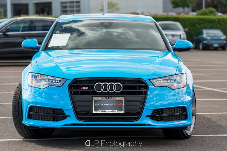In Photos: Exclusive Riviera Blue Audi S6