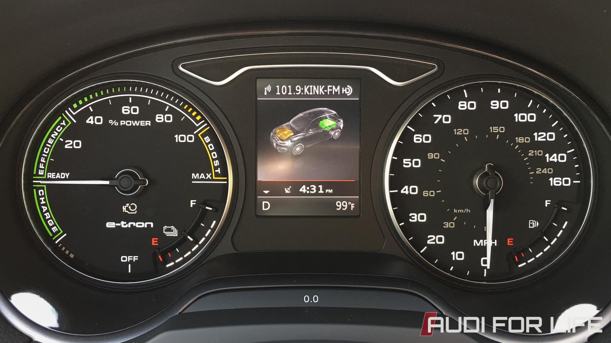 Weekend with a 2016 Audi A3 Sportback e-tron